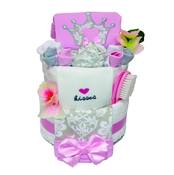 Little Princess Gift Nappy Cake