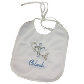 Christening bib - Personalised