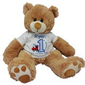 Personalised First Birthday Teddy Bear