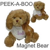 Personalised | Peek a boo teddy bear