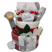 Deluxe Cheeky Monkey Nappy Cake Unisex
