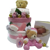 Beautifully for Baby Nappy Gift Cake