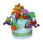 Mega Bright Beginnings Baby Gift Cake