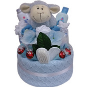 Beautiful Beginnings Nappy Gift Cake