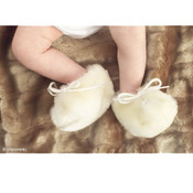 (minimink) newborn milk booties