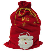 Personalised Christmas Gift Sack - Santa