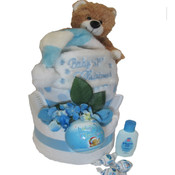 Baby's First Christmas Nappy Cake