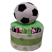 My First Soccer Baby Gift Cake