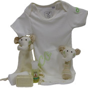 Organic Cotton Baby Gift Set