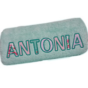 Applique Personalised Bath Towel
