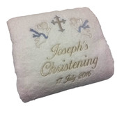 Sweet Angel Christening towel