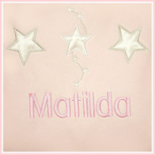 Satin Star Personalised Blanket