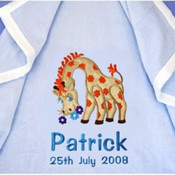 Gerry Giraffe Personalised Blanket