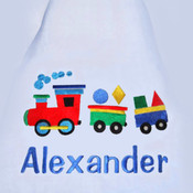 Toot Toot  Personalised Blanket