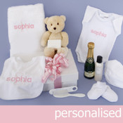 My Delux Unique Embroidered Gift Hamper includes Teddy