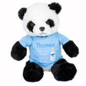 New Baby Personalised Teddy Bear Gift..Panda