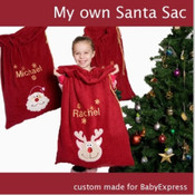 Personalised Christmas Gift Sack