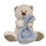 Personalised | 28cm Pebbles Teddy with blankie