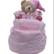 Personalised Delux Gift nappy cake
