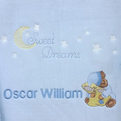 Sweet Dream Personalised Blanket