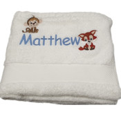 Tiny Animals Personalised Sheridan Bath Towel