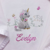 My Little Unicorn Personalised Blanket