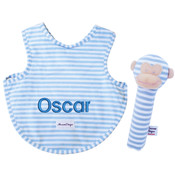 Personalised bib with Squeaker