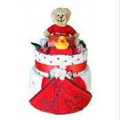 Little Angel Nappy Cake...Unisex Plus