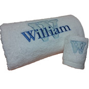 Personalised Applique Bath Towel