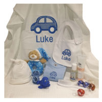 Baby Boy Personalised Hampers Thumbnail