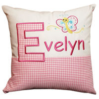 Personalised little butterfly cushion Thumbnail