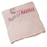 Unicorn Personalised Bath Towel Thumbnail