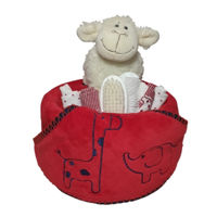 Little Safari Hooded towel nappy cake Thumbnail