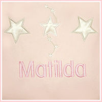Satin Star Personalised Blanket Thumbnail