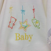 Lullaby Personalised Baby Blanket Thumbnail
