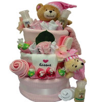 Ultimate 1st Teddy Nappy Gift Cake 3 Tier Thumbnail