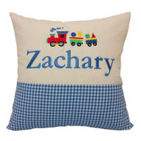Copy of Personalised Star gingham cushion Thumbnail