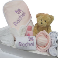 Personalised Butterfly Hooded Towel Gift Set Thumbnail